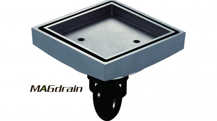Трап под плитку хром — FC07Q5-G MAGdrain