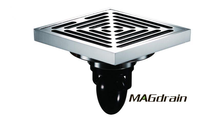 Качественные дизайнерские Трапы Макдрейн для ванных и душевых FC12Q5-G MAGdrain