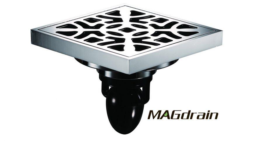 Трап для душа и ванных комнат FC15Q5-G MAGdrain